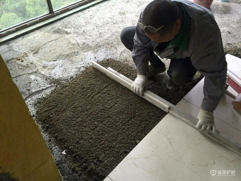 地磚鋪設施工圖-保駕護航裝修網