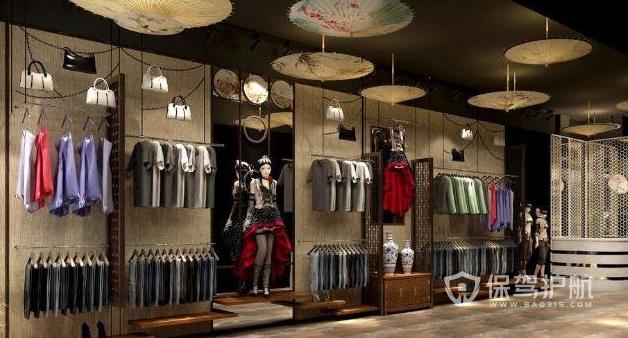 服装店背景墙用什么材质?服装店背景墙装修效果图