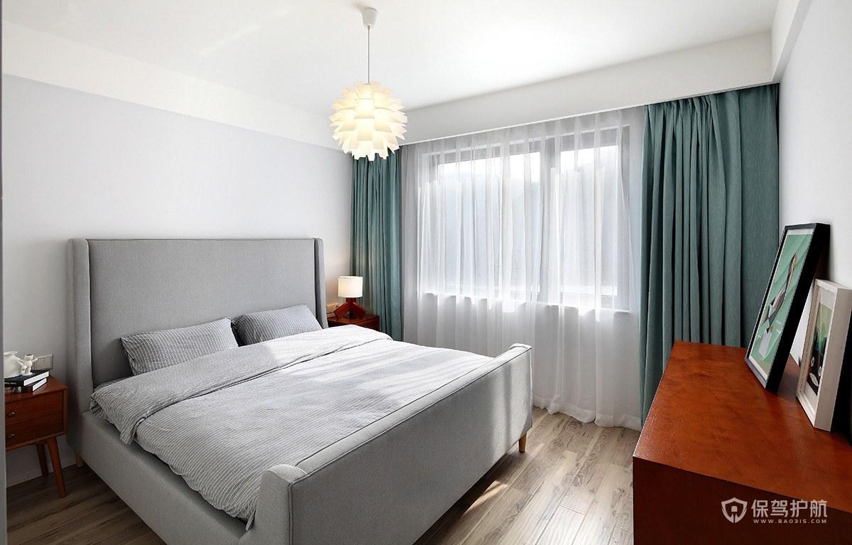 110平北歐風三居室臥室裝修效果圖