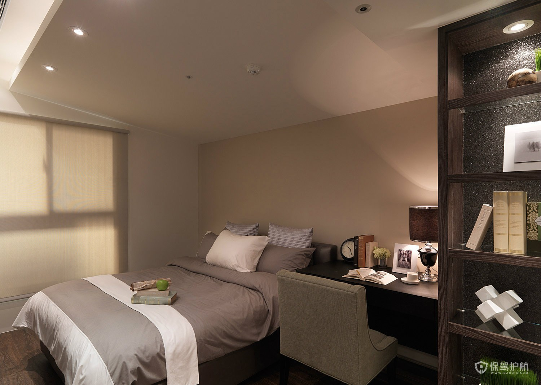 現代簡約風二居室臥室裝修效果圖
