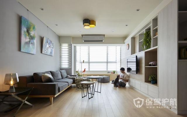 曬曬90㎡二手房裝修改造,全屋空間極致利用,打造零障礙親子互動空間!