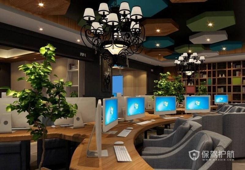 网吧设计装修技巧 网吧设计装修图片