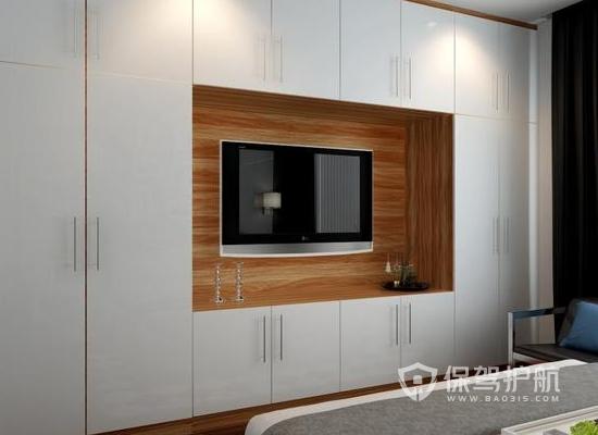 臥室電視柜怎樣設計好?10平米臥室電視柜設計效果圖
