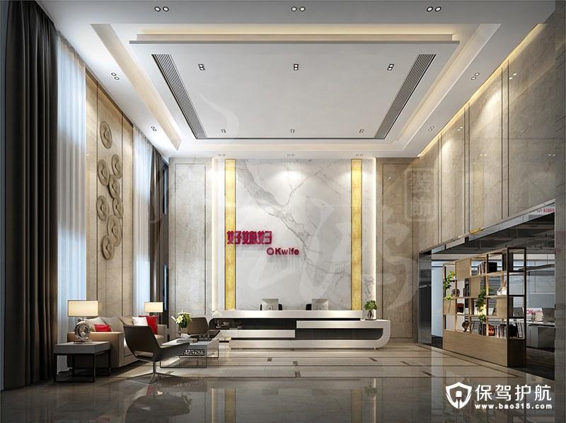 广州好媳妇日用品有限公司总部大楼简约风装修效果图