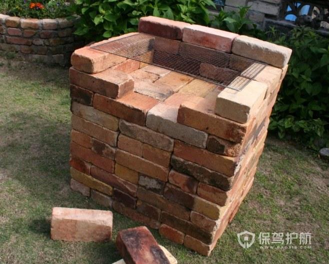 庭院燒烤爐自制磚砌怎么弄? 庭院燒烤爐自制磚砌圖