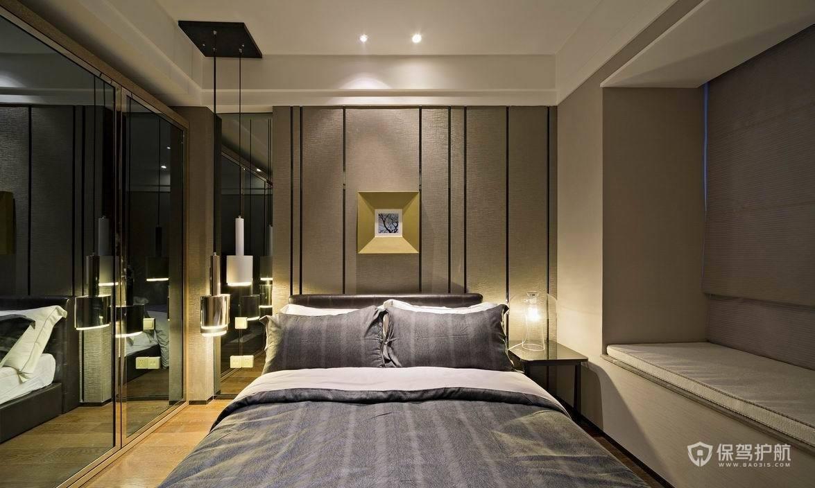 日式簡約大平層臥室裝修效果圖