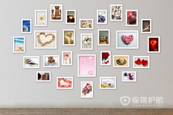 照片墙挂法有哪些?照片墙悬挂效果图