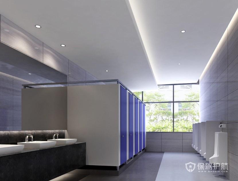 現代簡約辦公室衛生間裝修效果圖