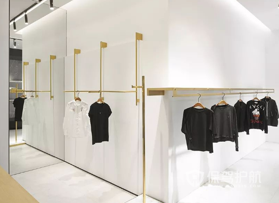 46平米現代風格服裝店裝修效果圖
