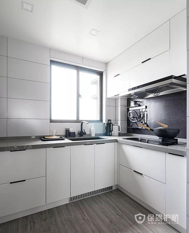 廚房裝修效果圖-保駕護航裝修網