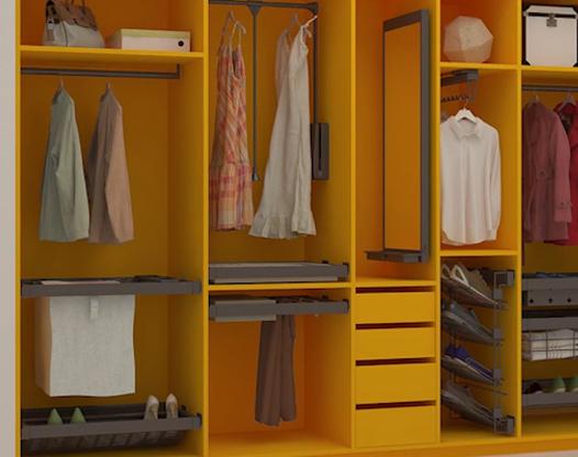 衣柜設計有哪些實用的建議?定制衣柜是首選!