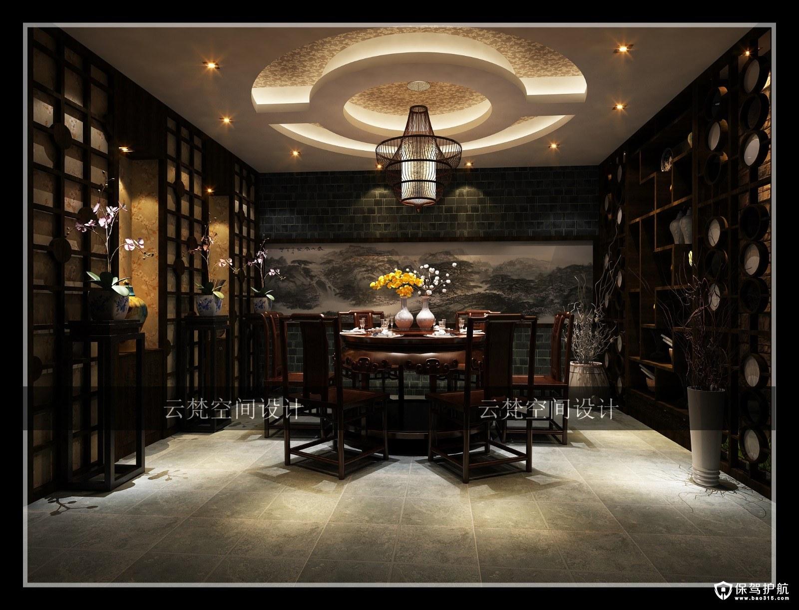 泸州中式风格茶道室装修效果图