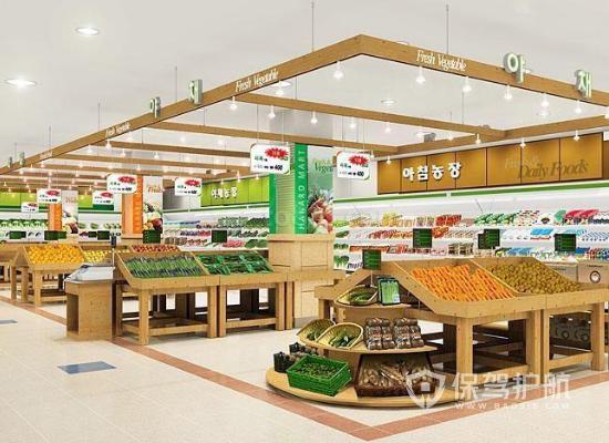 105平米韓式風格超市裝修實景圖