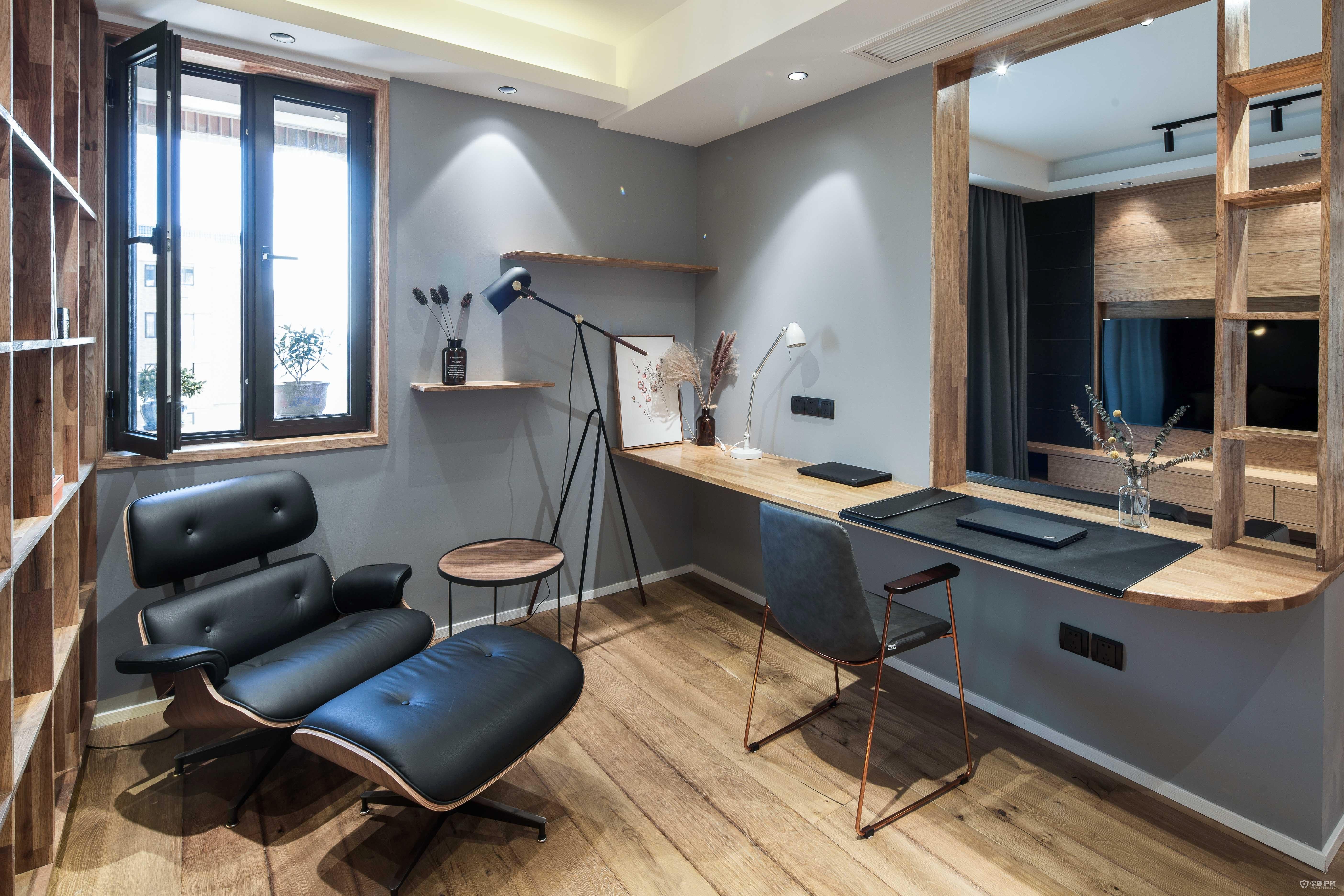 日式簡約風二居室創意書房裝修效果圖…