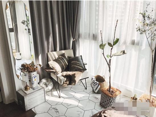 90后帥哥的婚房裝修設計,復古調的輕工業北歐風,混搭得一點都不俗氣