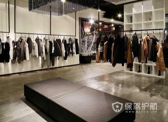 60平米服装店装修怎样省钱?60平米服装店装修材料清单