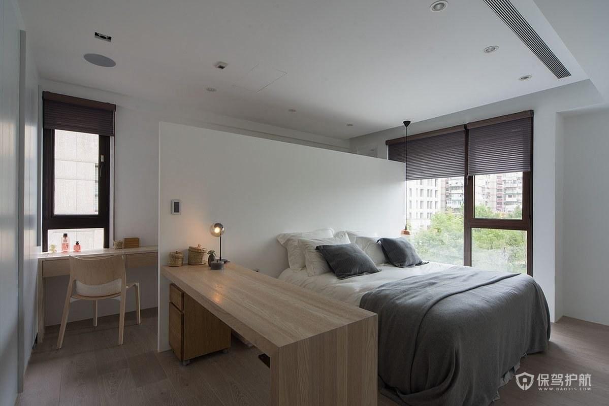 北欧风小户型卧室隔断装修效果图