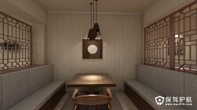 书院路中式风格棋牌室装修效果图