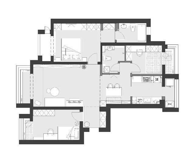 90后小夫妻装修的现代风格,130平米三居室太赞了