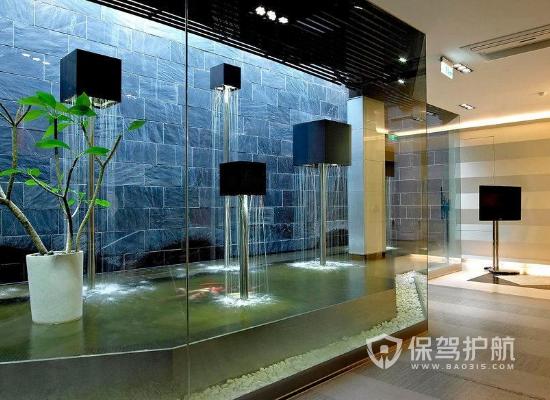 创意简约风格展厅装修设计效果图