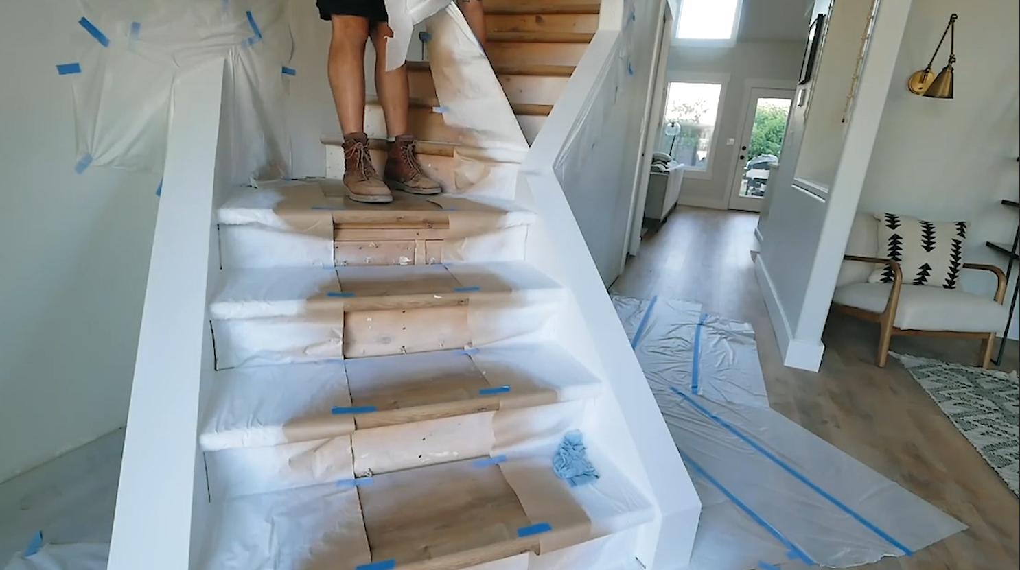 只要把樓梯改造一下,就能舊樓變新顏
