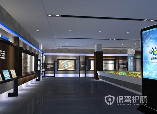 90平米现代风格展厅装修效果图