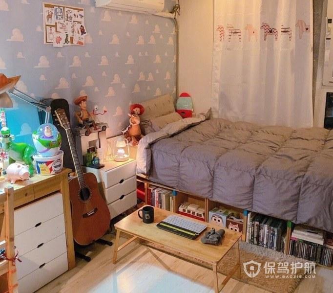 溫馨宜家風創意臥室收納床裝修效果圖
