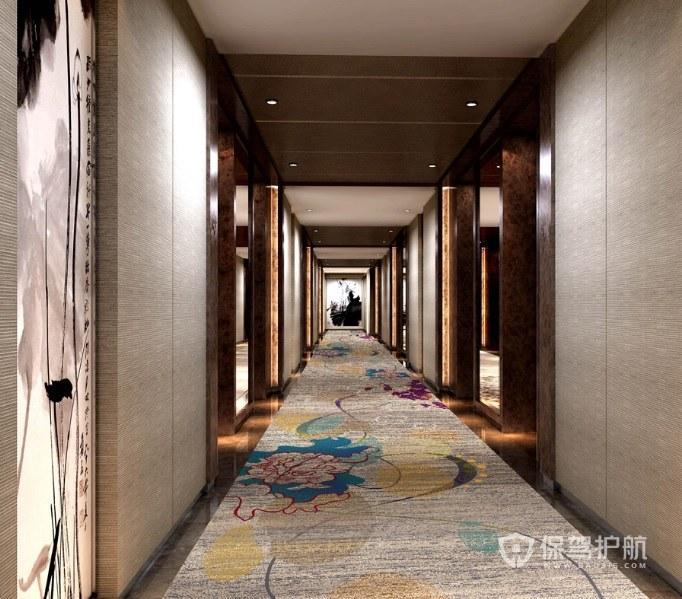 酒店过道选用什么地毯好? 酒店过道地毯效果图