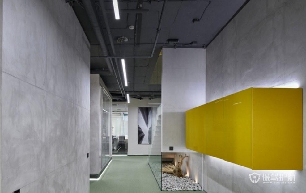 工業風格公司走廊裝修效果圖
