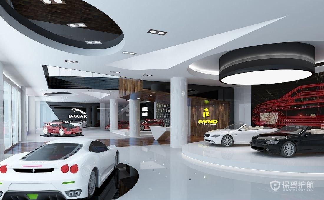 汽车展厅怎么装饰好?汽车展厅装饰效果图