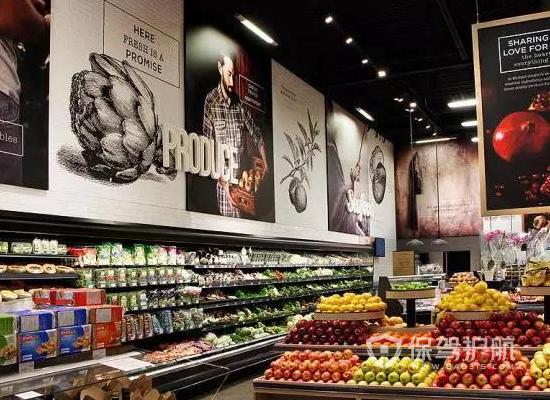 98平米美式風格食品店裝修效果圖