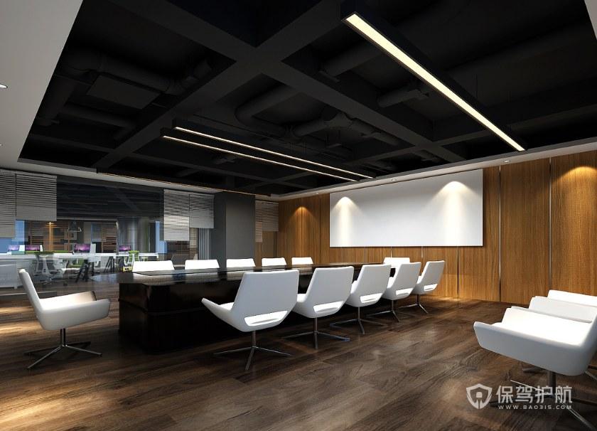 新古典風格公司會議室裝修效果圖