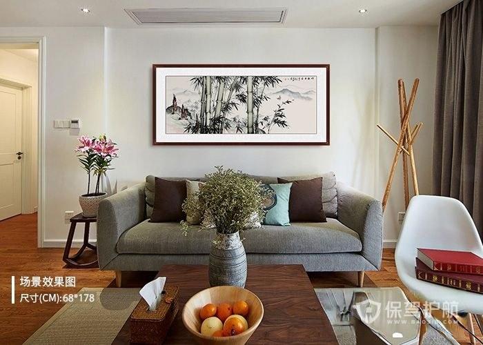 适合客厅的挂画 这4幅极具艺术特色的装饰画推荐给你