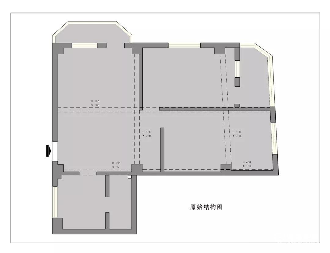 两房改三房怎么做?78平两房改三房装修案例来了!