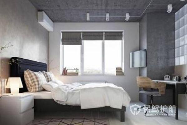 工业风格卧室装修效果图-保驾护航装修网