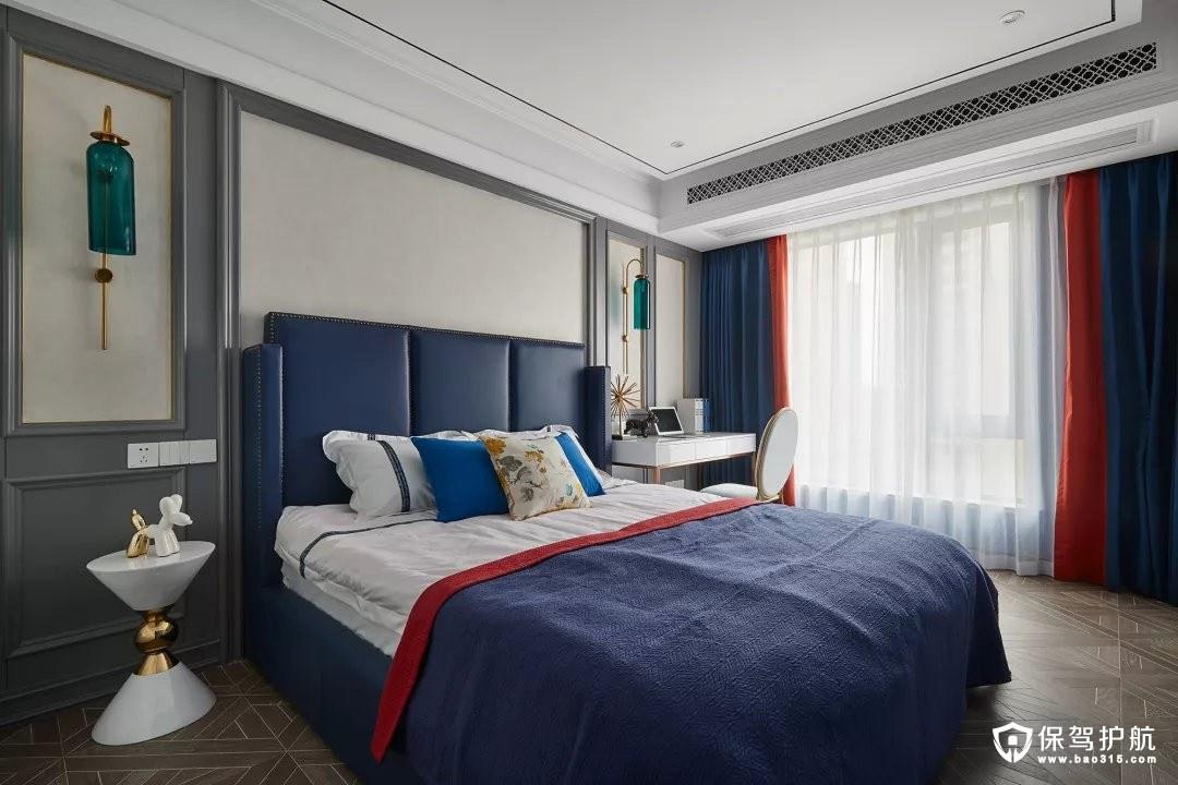 112㎡奢华有度现代古典混搭风三居室装修效果图