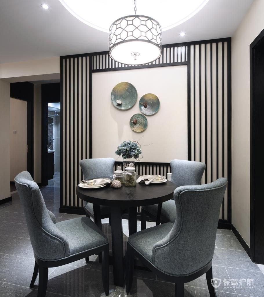 新中式风公寓餐厅装修效果图