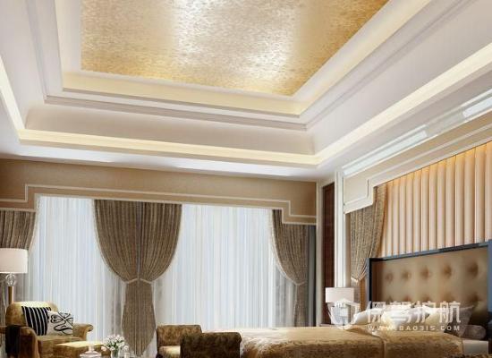 94平米欧式风格酒店客房装修效果图