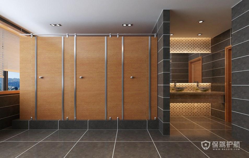 新古典风格公司卫生间装修效果图