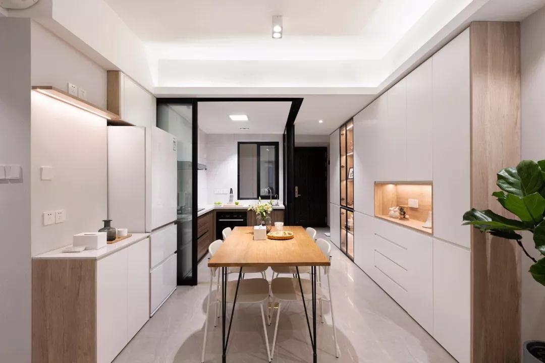 89m²现代风小户型两居室,紧凑舒心的小窝