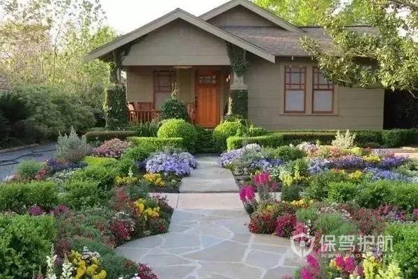 农村小院子花园怎么布置?农村小院子花园效果图