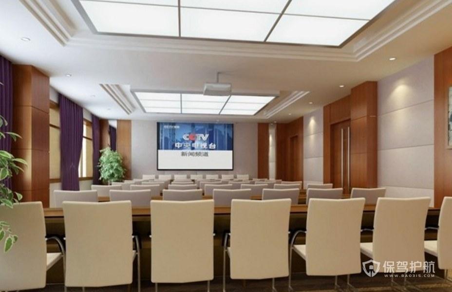 新时尚公司会议大厅装修效果图
