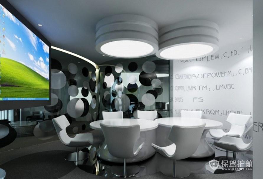 创意风格公司会议室装修效果图