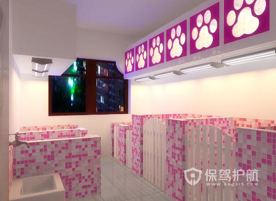 90平米现代风格宠物店装修效果图