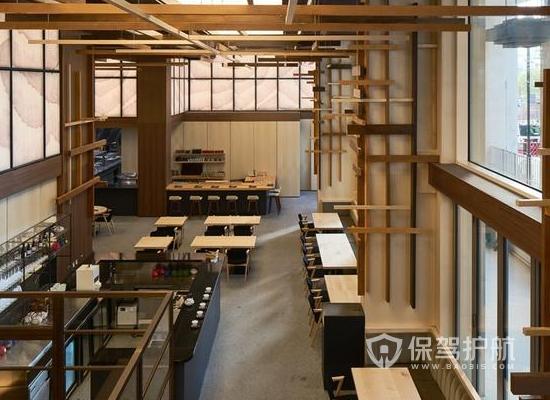 日式料理店装修重点 135平米日式料理店装修案例