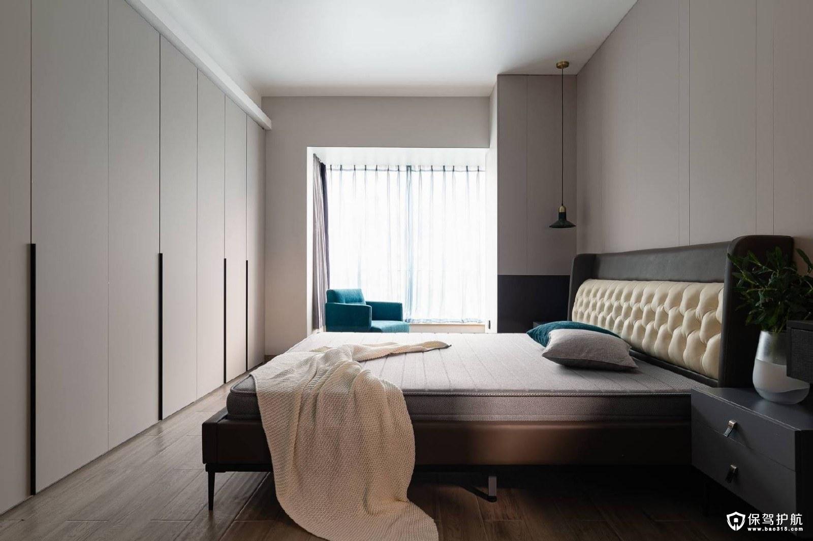 世界公元109㎡现代简约风格三居室装修效果图