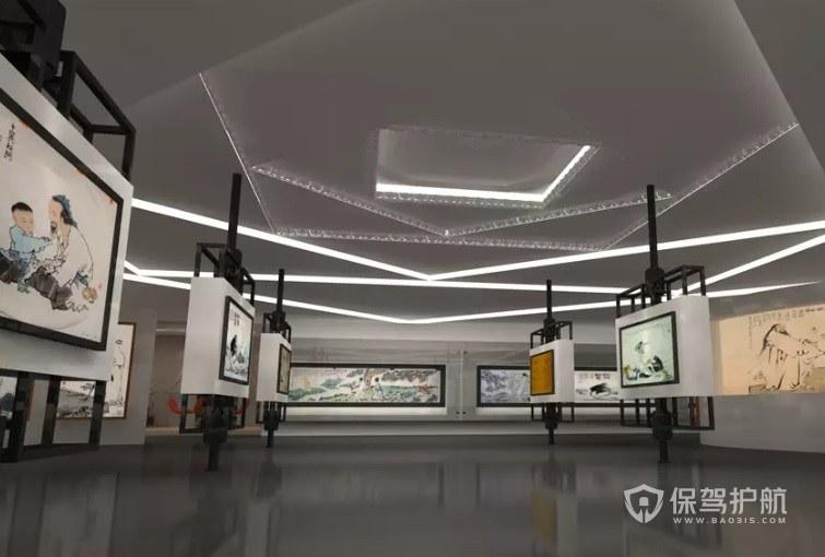 展馆内部如何设计? 展馆内部设计效果图
