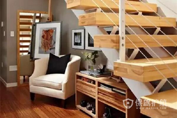 【楼梯拐角装修效果图】楼梯拐角怎么利用比较好?