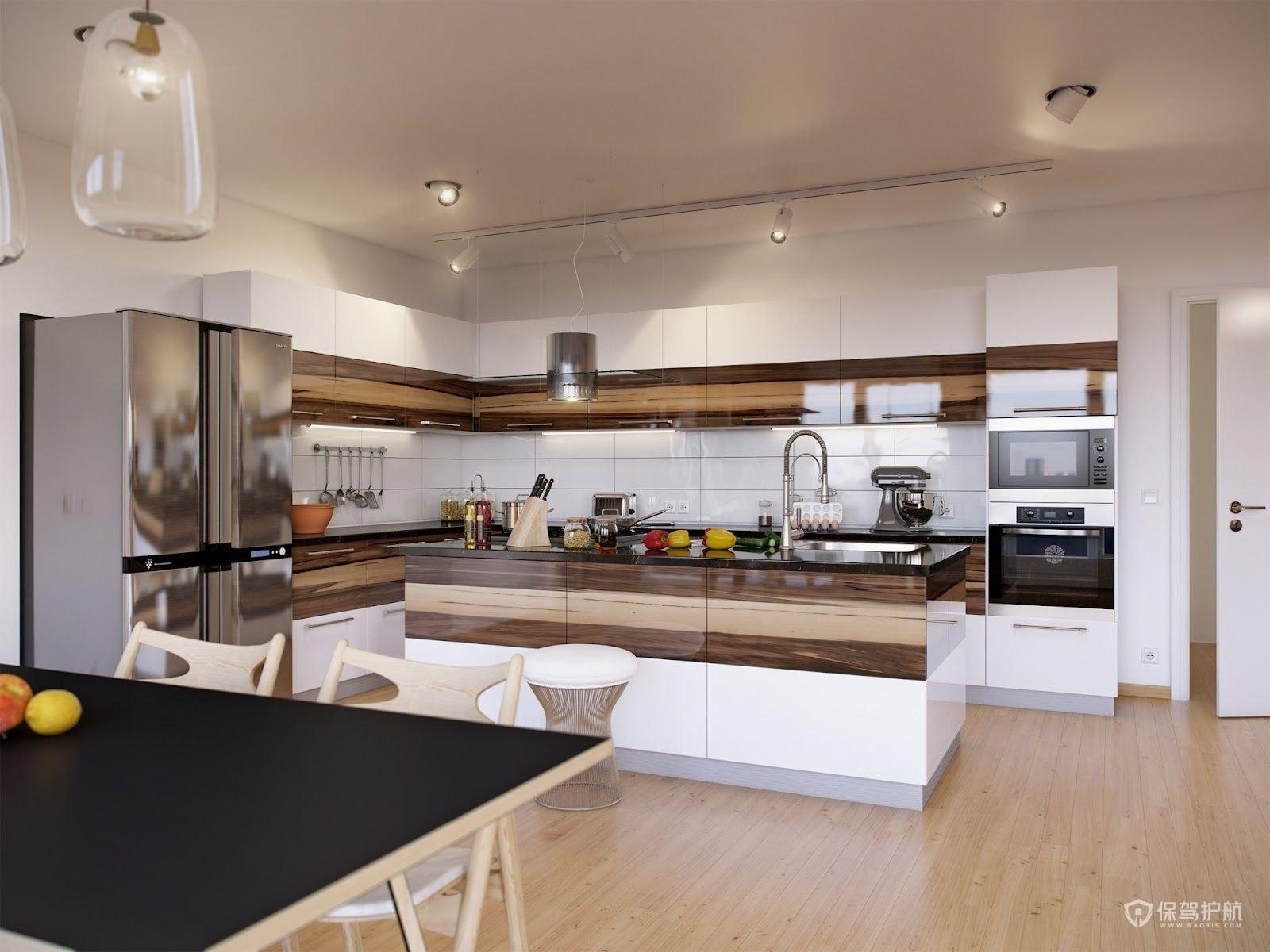 简约风三居室厨房装修效果图