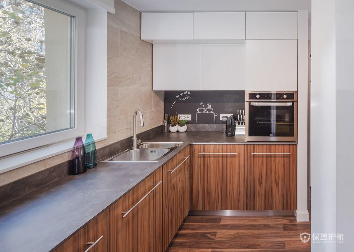 北欧风二居室厨房装修效果图